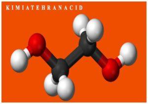 ساختار مولکولی مونو اتیلن گلایکول