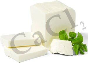 بهبود کیفیت پنیر با استفاده از کلسیم کلرید
