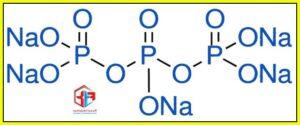 ساختار مولکولی تری پلی فسفات سدیم