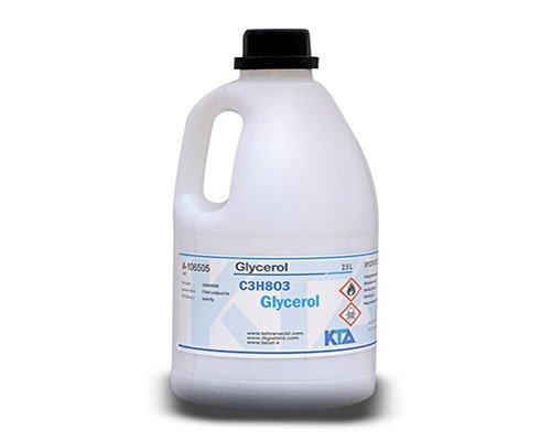 کاربرد گلیسیرین در افشره ها