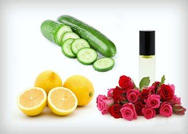 ماسک خیار و لیمو برای پوست