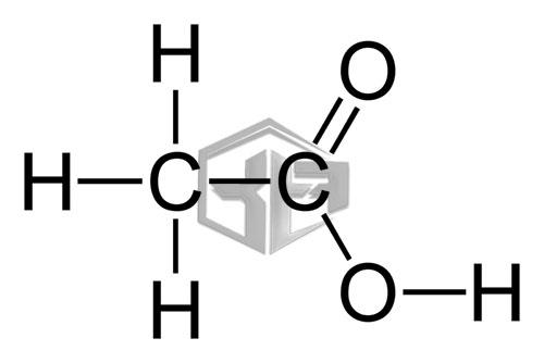 ساختار اسید استیک